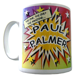 Personalised Comic Book Mug
