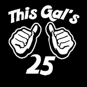 This Gal Custom Age T Shirt