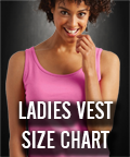 Fitted Vest Sizes