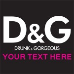 Hen Party T Shirt Idea d&G