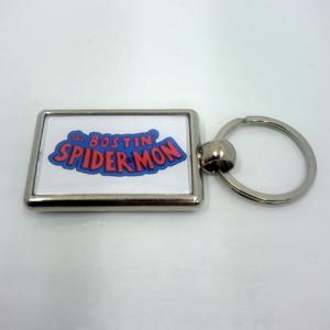 Spidermon Keyring