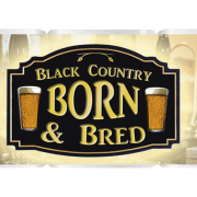 Black country mug born and bred template