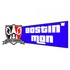 Bostin Mon Window Sticker