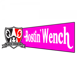 Bostin Wench Window Sticker