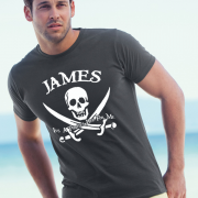 Custom Pirates T Shirt