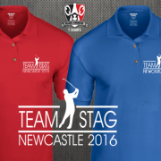 Golf Stag Party Polo Shirts