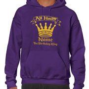 Personalised Birthday King Hoody