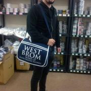 West Brom Messenger Bag