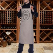 Personalised Wine Apron