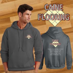 CAINE FLOORING HOODIE