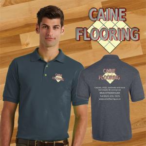 Caine Flooring Polo Shirt