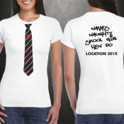 School Girl Hen Do T Shirts