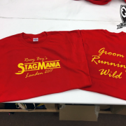 Stag Mania T Shirt Example