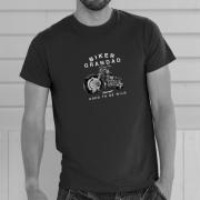 Biker Grandad T Shirt