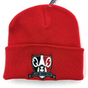 Black Country Beanie Hat Red 3