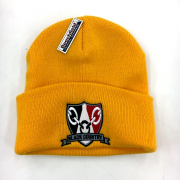 Black Country Beanie Hat Yellow 3