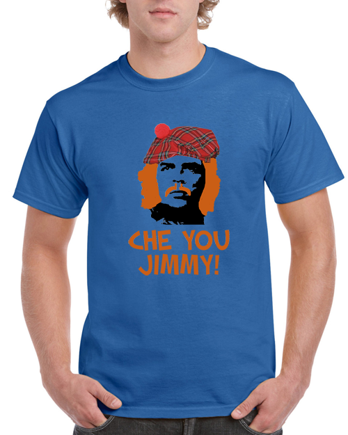 254ac76a7 Che You Jimmy- Funny Scottish T-shirt | Black Country T Shirts