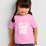 It Wor Me - Kids Black Country T Shirt