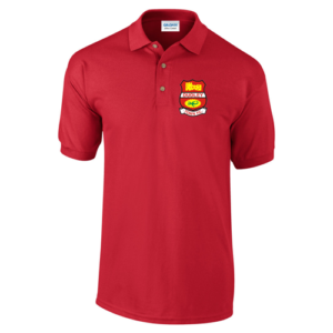 Dudley Town Red Polo