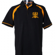 Gold and Black polo shirt