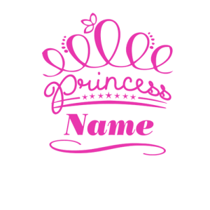Personalised Princess Babygrow