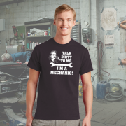 MECHANIC FUNNY T SHIRT
