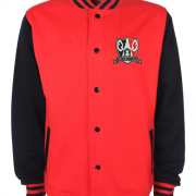 Red Black Varsity Jacket