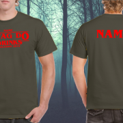 STAG DO DRINKS T SHIRTS