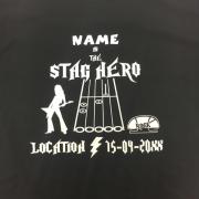 stag hero t shirt