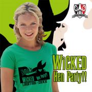 Wicked hen t shirt