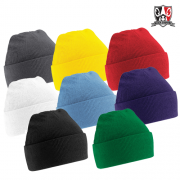 Custom Cuffed Beanie Colours