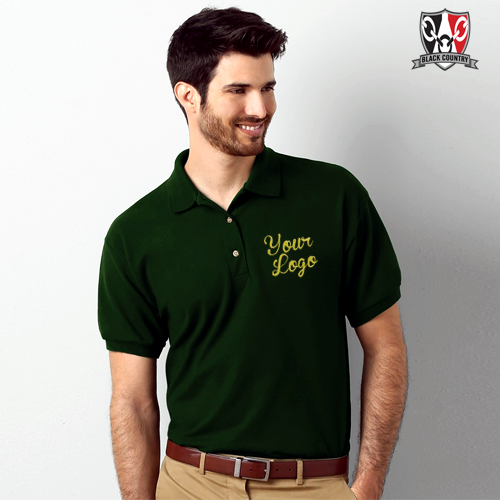 Buy Custom Embroidered Polo Shirts Black Country T Shirts