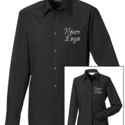 Custom Work Shirt Black