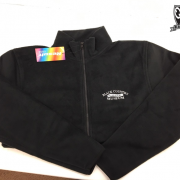 Custom Logo On Fleece Example
