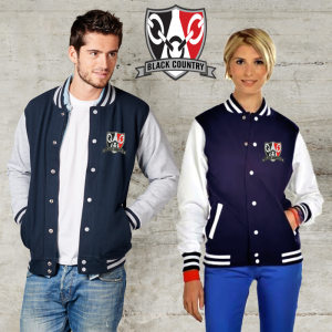 Black Country Shield Varsity Jacket