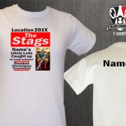 The Stags Newspaper Stag Do T-Shirt
