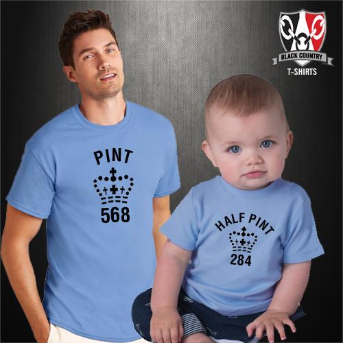 Pint-half-pint-T-shirt