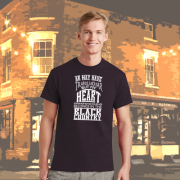 MY HEART IS IN THE BLACK COUNTRY T SHIRT