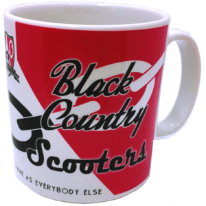 Black Country Scooters mug