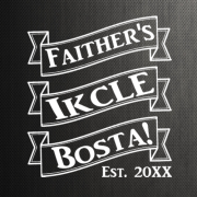 Faither's Ikcle Bosta Design