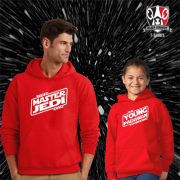 Jedi & Padawan Father & Child Hoodies