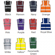 Custom Hi Vis Vest Colours