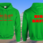 STAG DO FEAR AND LOATHING HOODIE