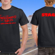 STAG DO FEAR AND LOATHING T SHIRT