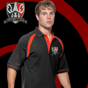 Black/red BC Polo Shirt
