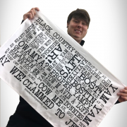 Black Country Word Jumble Tay Towel Pic