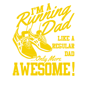 Awesome Running Dad