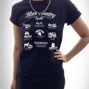 Black Country Spake Unisex T Shirt