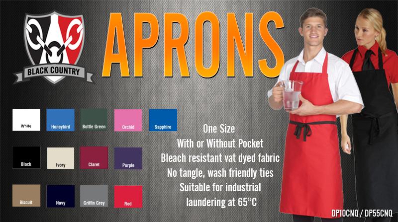 Apron Colour Chart