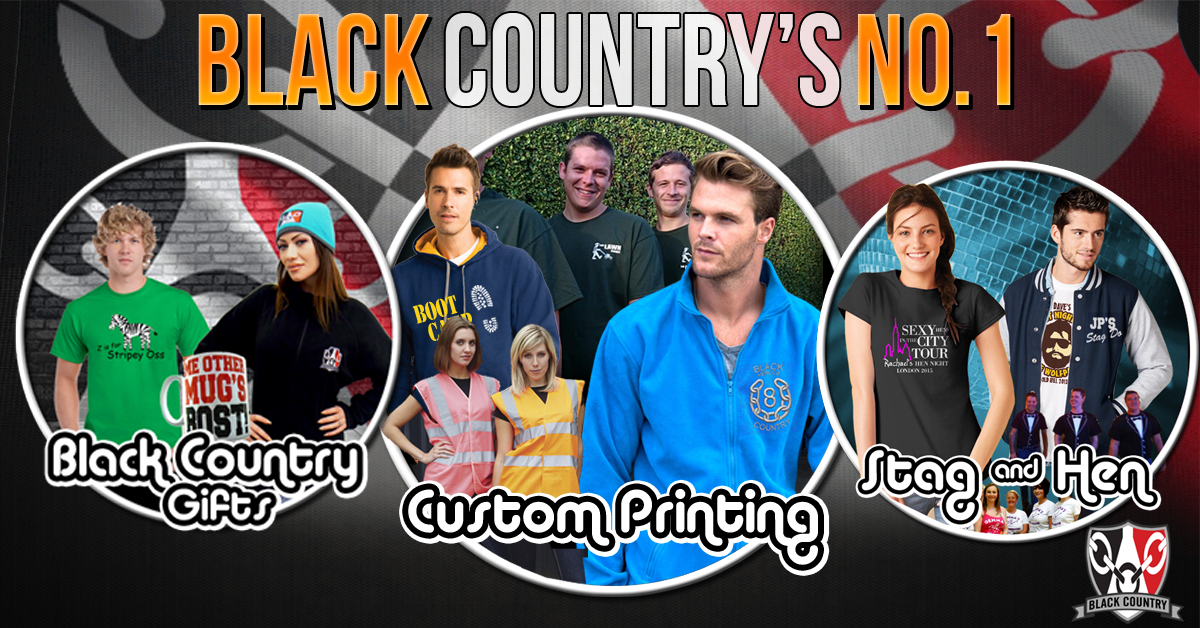 be252d84 Custom T Shirt Printing & Embroidery | Black Country T Shirts